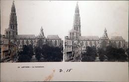 Stereokaart - Anvers, La Cathédrale (Place Verte) - Antwerpen