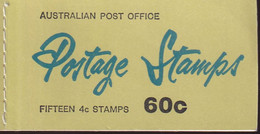 Australia 1966 ASC B76I Booklet Complete 9x4 IN - Mint Stamps