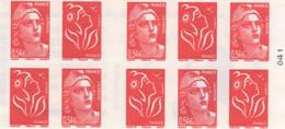 FRANCE CARNET1514 (2006-10)  Salon D'automne Neuf  TBE - Croce Rossa