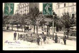 75 - PARIS 15EME - STATION DU METROPOLITAIN BOULEVARD PASTEUR  - GUIMARD - VOIR ETAT - Arrondissement: 15
