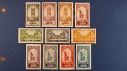 Maroc - Série Complète 26 Valeurs YT N° 98 à 123 * Neuf Avec Charnière - Nuovi