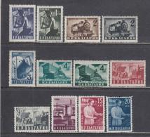 Bulgaria 1950 - Regular Stamps: National Economy, Mi-Nr. 723A/30A+770/73, MNH** - Nuevos