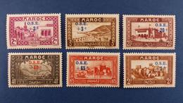 Maroc - Série Complète 8 Valeurs YT N° 153 à 160 * Neuf Avec Charnière - Nuovi