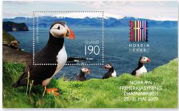 Iceland 2009 SS MNH  Puffin (Fratercula Arctica) Bids Bird Oiseaux Oiseau - Ohne Zuordnung