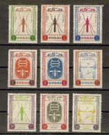 Dubaï 1963 -  Lutte Contre La Malaria - Série Complète MNH/NSG - 22/27 C13/15 - Dubai