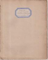 BREMOND D'ARS : ARCHIVE . PETIT LIVRET DE 14 PAGES . RECTO VERSO MONTEES SUR ONGLET . INTITULE FRAGMENT DES MEMOIRES . - Historical Documents