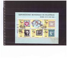 E78  -    BLOCCO FOGLIETTO USATO  SASSONE Nr. 3 - Blocchi & Foglietti