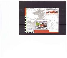 R56 -   BLOCCO FOGLIETTO USATO  SASSONE Nr.  33 - Blocchi & Foglietti