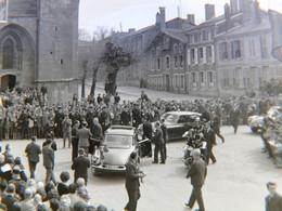 De Gaulle à Wassy 1963! Lot De 3 Négatifs Photo Ancienne DS Citroen Haute Marne 52 - Wassy