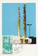 CARTE MAXIMUM 1970 GUYANE ESPACE - 1970-79