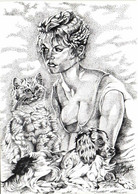Illustrateur Ignace Mogère (dit )Mederic Brigitte Bardot Avec Nos Amis Les Betes   RV Tirage 150 Ex - Actors