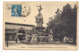 Tarbes , Ensemble De La Fontaine Monumentale De La Place Marcadieu - Tarbes