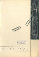 MENU : Feestmaal  Plechtige Dankmis  1958   (  See Scans For Detail )   17  X 11.5   Cm - Menus