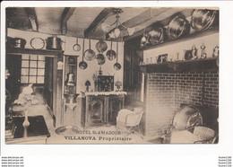 Carte De L' Hôtel De SAINT AMADOUR Villanova Propriétaire - Altri Comuni