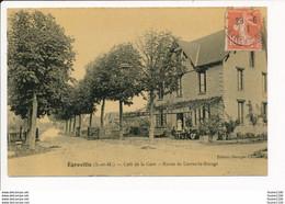 Carte D' EGREVILLE Café De La Gare  Route De Lorrez Le Bocage - Autres Communes