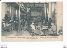 Institut National Professionnel Des Invalides De La Guerre à SAINT MAURICE (seine) Atelier De Cordonnerie ( Militaire ) - Saint Maurice