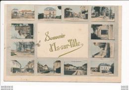 Carte D' IS SUR TILLE  Souvenir En Multivues   ( Recto Verso ) - Is Sur Tille