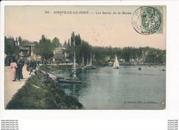 Carte De JOINVILLE LE PONT  Les Bords De La Marne Colorisée  ( Recto Verso ) - Joinville Le Pont