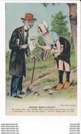 Carte Humoristique  Propos Morvandiaux La Cueillette Des Champignons Illustrateur A.p. Jarry ( Morvan ) ( Recto Verso ) - Unclassified