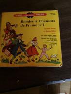 Disque Vintle 45 T RONDES ET CHANSONS DE FRANCE N°3 - Bambini