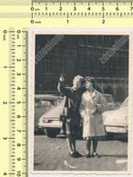 REAL PHOTO ANCIENNE , Women, Car , Citroen DS  Auto Voitur Automobilia Old Photo ORIGINAL - Automobili