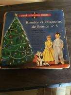 Disque Vintle 45 T RONDES ET CHANSONS DE FRANCE N°5 - Bambini