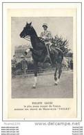 Philippe Gruss Le Plus Jeune écuyer De France  Montant Son Cheval De Haute école Thoas - Hípica