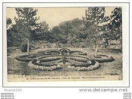 Carte De Lamalou Les Bains Parc De L' Usclade Massif En Mosaiculture - Lamalou Les Bains