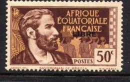 AEF  - 107** - PIERRE SAVORGAN DE BRAZZA - Unused Stamps