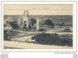 Combres Ses Ruines à L' Horizon La Côte De Combres Et Des éparges Versant Sud Est Occupé Par Les Lignes Allemandes - Unclassified