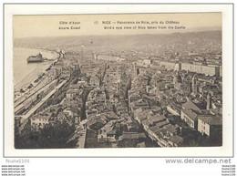 Carte De Nice  Panorama De Nice Pris Du Château - Multi-vues, Vues Panoramiques