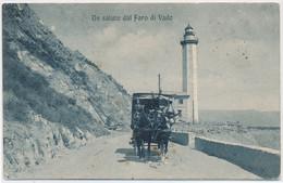 2d.44.  VADO - Un Saluto Dal Faro - Savona - 190(?) - Autres Villes