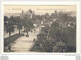 Carte De Nice Jardin Public - Parcs Et Jardins