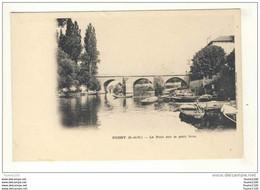 Carte  De Poissy Le Pont Sur Le Petit Bras - Poissy