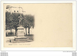 Carte  De Poissy Statue De Meissonier - Poissy