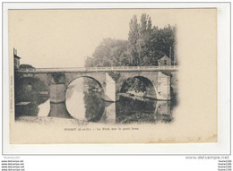Carte De Poissy  Pont Sur Le Petit Bras - Poissy