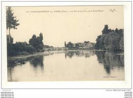 Carte De Châteauneuf Sur Cher Les Bords Du Cher Et Le Pont Neuf - Chateauneuf Sur Cher