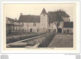 Carte De St Saint Amand Montrond Le Jardin Du Musée - Saint-Amand-Montrond