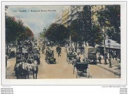 Carte De Paris 75002 75010 Boulevard Bonne Nouvelle ( Au Dos Publicité Du Restaurant Reneaux 196 Rue Saint Honoré Paris - Arrondissement: 02