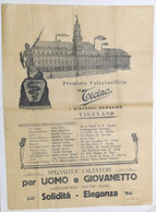 Pubblicità Manifesto Premiato Calzaturificio Ticino - Vigevano Calzature 1920 Ca - Pubblicitari
