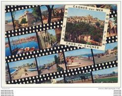 Carte ( Format 15 X 10,5 ) De Cagnes Sur Mer + Cros De Cagnes ( Mon Film ) - Cagnes-sur-Mer