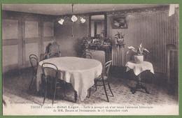 CPA - AIN - THOIRY - HÔTEL LEGER - SALLE A MANGER DE L'ENTREVUE HISTORIQUE ENTRE BRIAND & STRESSEMANN EN 1926 - Sin Clasificación