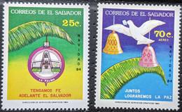 El Salvador, 1984, MI 1535-1536, Christmas, 2v, MNH - Natale