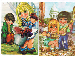 LOT DE 15 CARTES FANTAISIE TOUTES SCANNEES - 5 - 99 Postcards