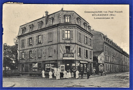 CPA 68 MULHAUSEN (MULHOUSE) - Consumgeschäft Von Paul Pozzoli, Lorentzstrasse 40 - Mulhouse