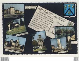Carte  De Montreuil Sous Bois ( Format 15 X 10,5cm )( Recto Verso ) - Montreuil