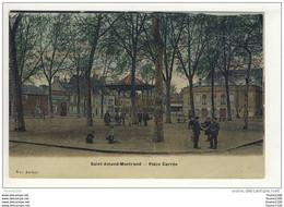 Carte  De Saint Amand Montrond ( état Moyen Dommage Car Peu Courante ) ( Recto Verso ) - Saint-Amand-Montrond