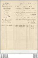 Facture De 1903 Des Mines De Champagnac à YDES  ( Cantal 15 )( Recto Verso ) - Non Classificati