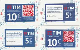 RICARICHE  4 TIM ULTIME EMISSIONI (CK714 - [2] Sim Cards, Prepaid & Refills