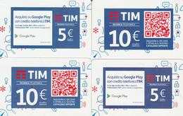 RICARICHE  4 TIM ULTIME EMISSIONI (CK715 - [2] Sim Cards, Prepaid & Refills